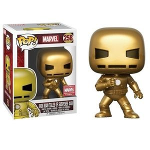 Iron Man Vinyl Bobble-Head Corps Pop Protector